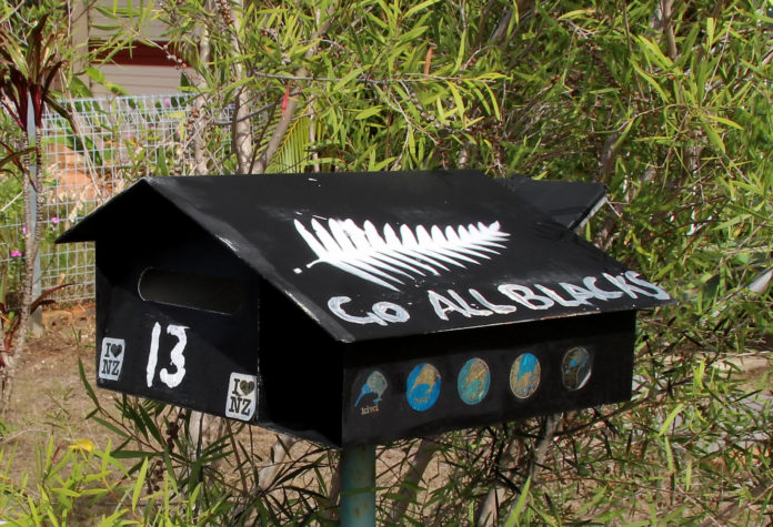 Letterbox, prone to fire hazards