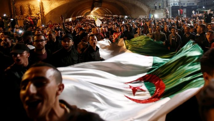 Algerian leader resigns turning protests into joyous celebrations