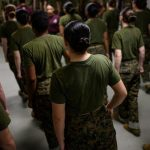 A new Pentagon report: military sexual assaults rise by 44% among females in ranks