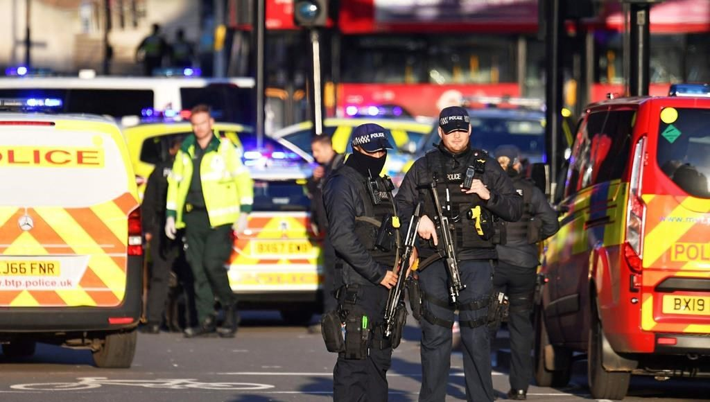 Several people were injured after reports of an incident at London Bridge